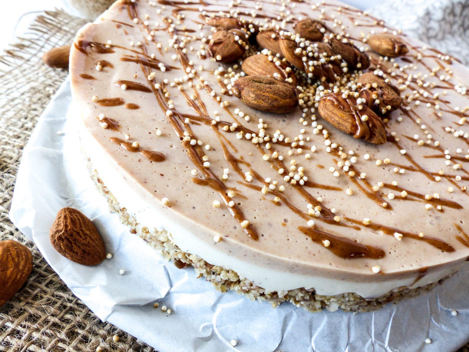 No Bake Cake Rezept vegan